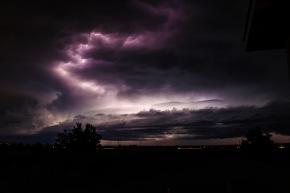 Lightning in Central Oregon