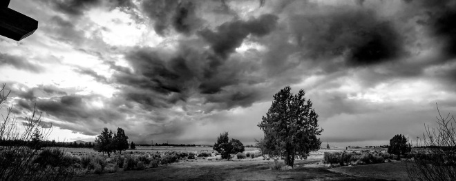 Storm Cell Black and White