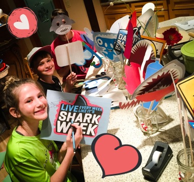 Recruiting help for Shark Week Party Prep